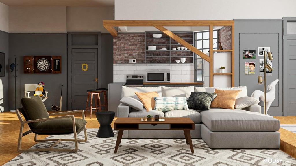 Joey S Bachelor Pad Home Decor Inspired By Friends Tv Show Popsugar Home Australia Photo 2