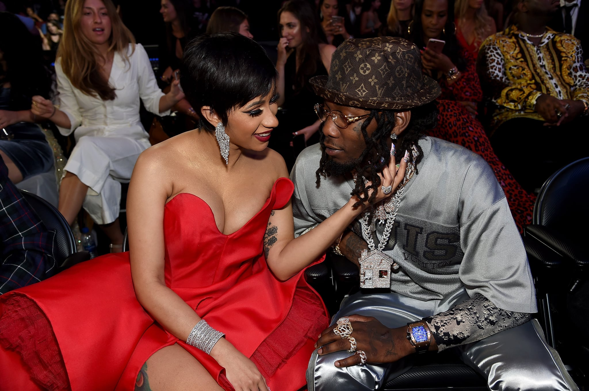 Cardi B S Wedding Photo With Offset Popsugar Celebrity Australia