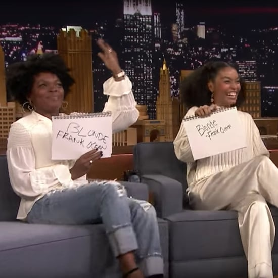 Yara Shahidi Does Mother Daughter Challenge on Jimmy Fallon