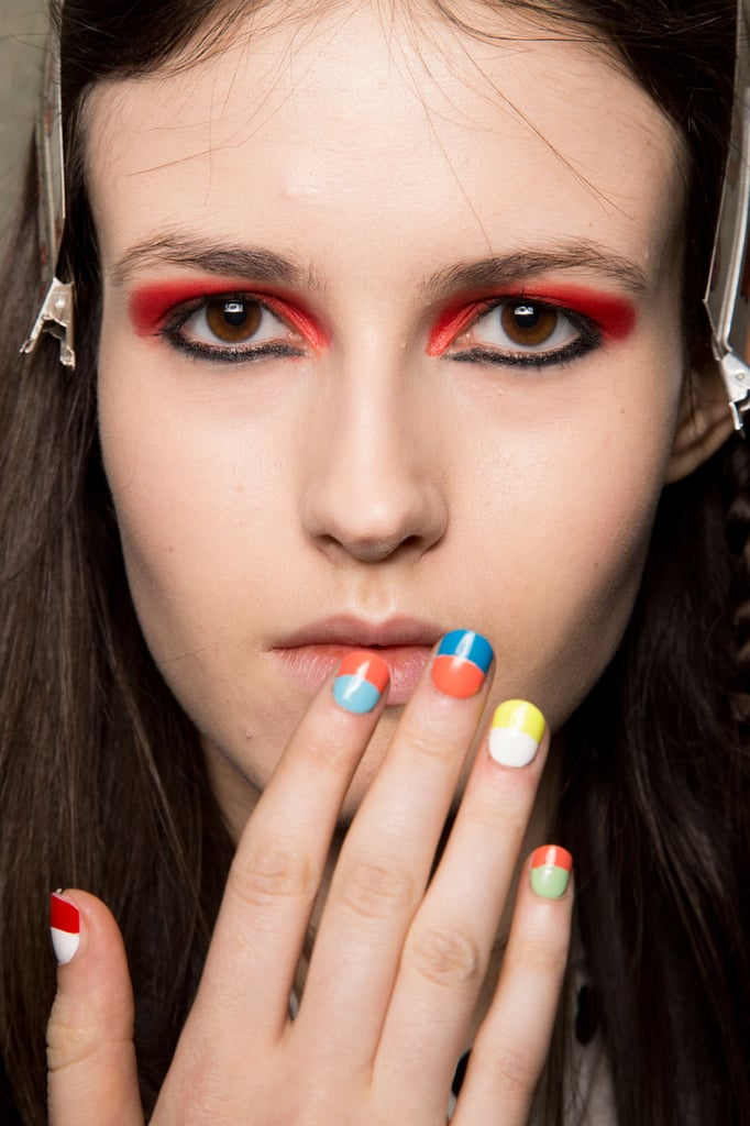 The Latest Nail Art Trends: Colourblocked, Dip Dyed, and Doodled ...