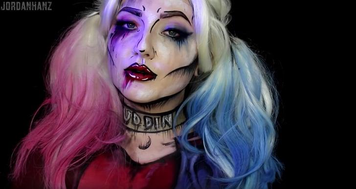 Harley Quinn YouTube Makeup DIY