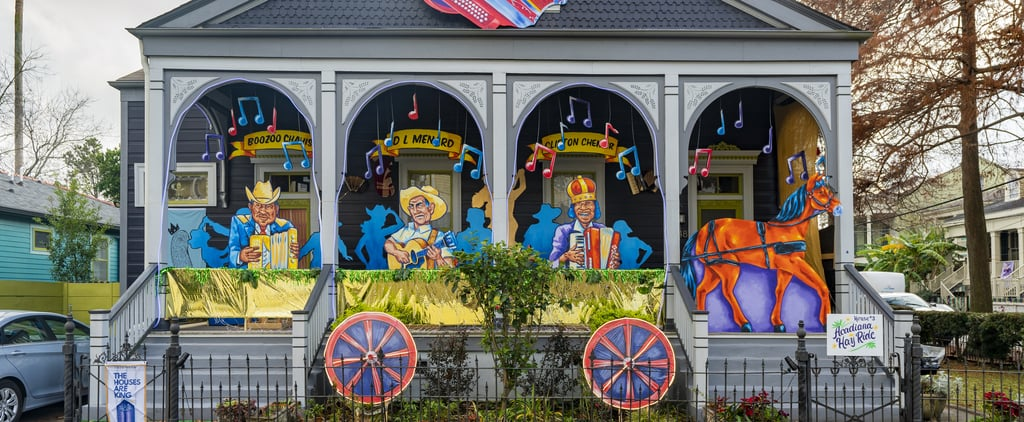 Pictures of Mardi Gras House Floats