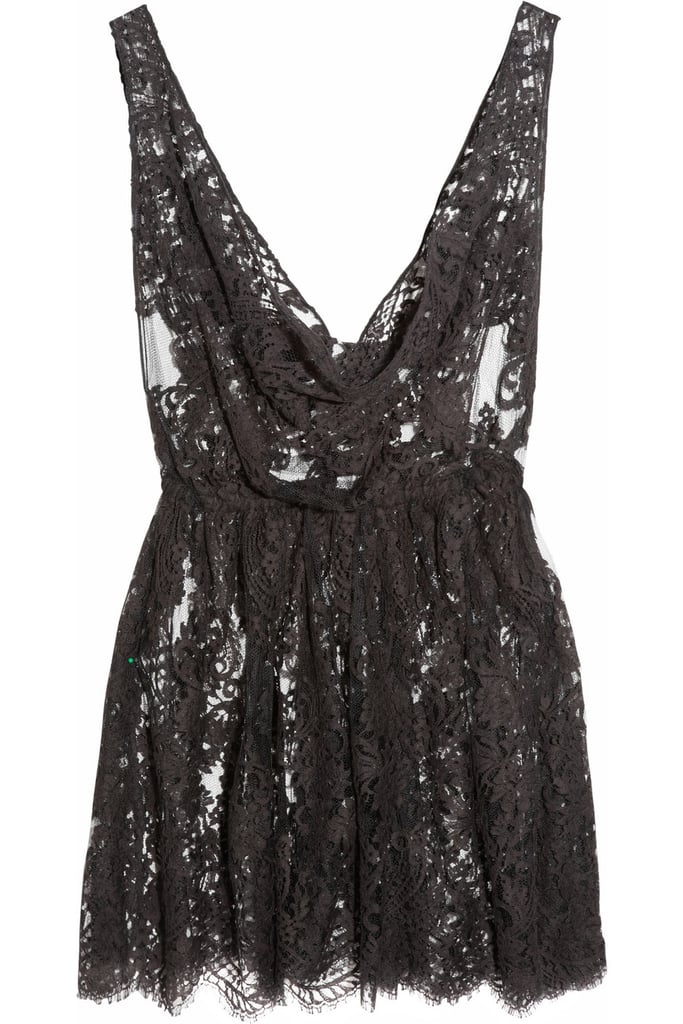 Now's the time to nab this sexy Rosamosario Kate Moss mini chantilly lace chemise ($93, originally $620) for just a fraction of the original price.