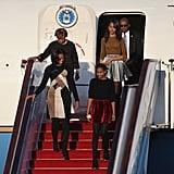 Michelle Obama, Sasha Obama, and Malia Obama