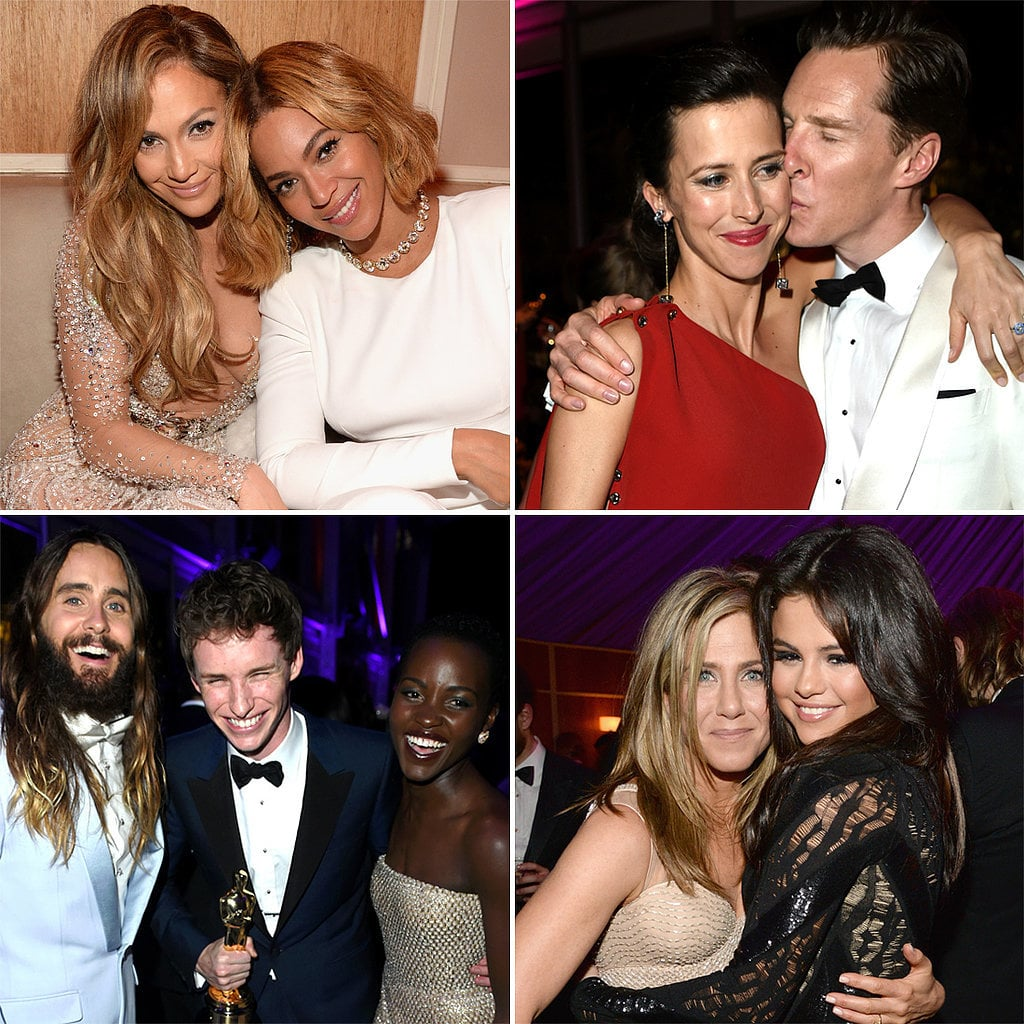Celebrities at 2015 Vanity Fair Oscars After-Party