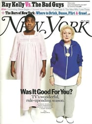 New York Magazine Cover With Betty White and Tracy Morgan