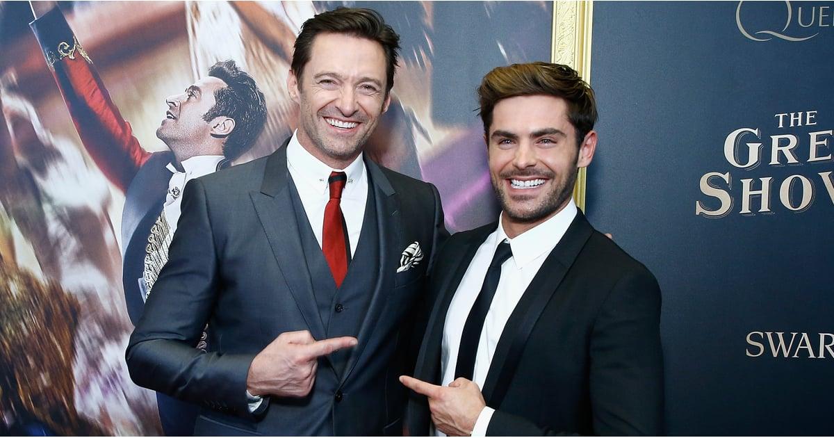 Hugh Jackman and Zac E...