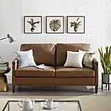 Apartment Upholstered Sofa with Nail Head Trim