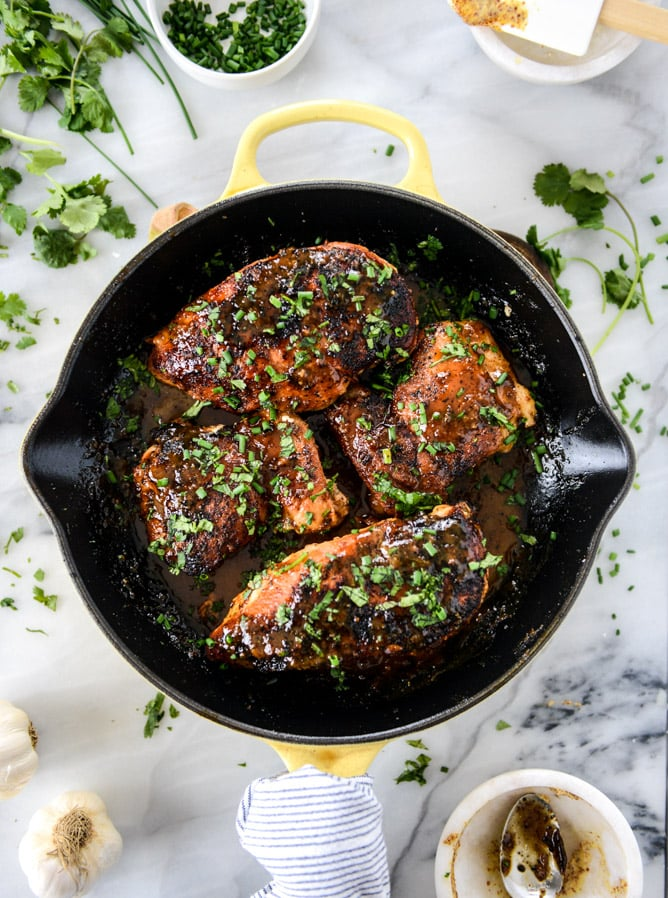 how to cook chicken in a skillet