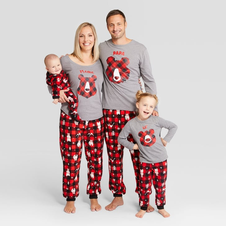 Holiday Bear Family Pajamas Collection Matching Family