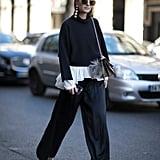 Zina Charkoplia at Paris Fashion Week