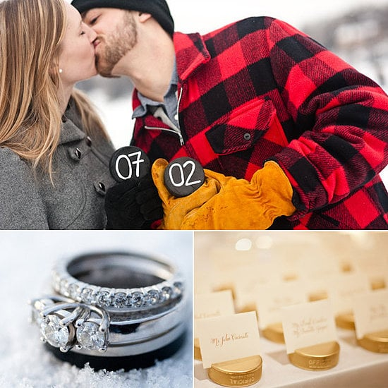 "If you and your husband-to-be have been glued to your screens to keep up with the Stanley Cup playoffs, these sporty details offer a fun, playful nod to hockey. Hoping to channel your favorite icy sport when you say ""I do""? Take a look at POPSUGAR Sex & Culutre's unique ways to bring your love for hockey to your big day!"