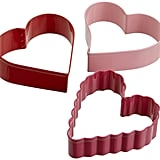 Wilton Three-Piece Hearts Cutter Set