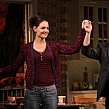 Katie Holmes performed in Dead Accounts in NYC.