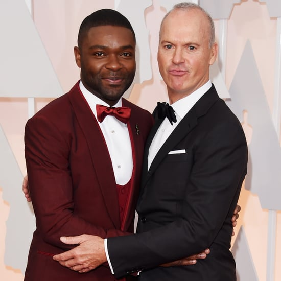 David Oyelowo and Michael Keaton at the Oscars 2015 | Photos