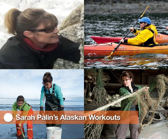 Sarah Palin's Workouts From TLC's Sarah Palin's Alaska Show
