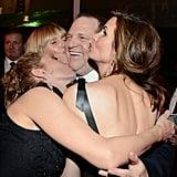 Heidi Klum got in on a Harvey Weinstein sandwich!