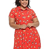 Disney Pixar Toy Story Red Collared Dress Plus Size