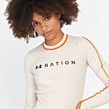 P.E Nation Ace Action Knit Top