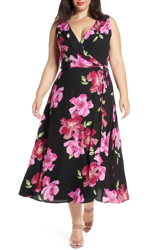 Leith Ruffle Detail Sleeveless Dress