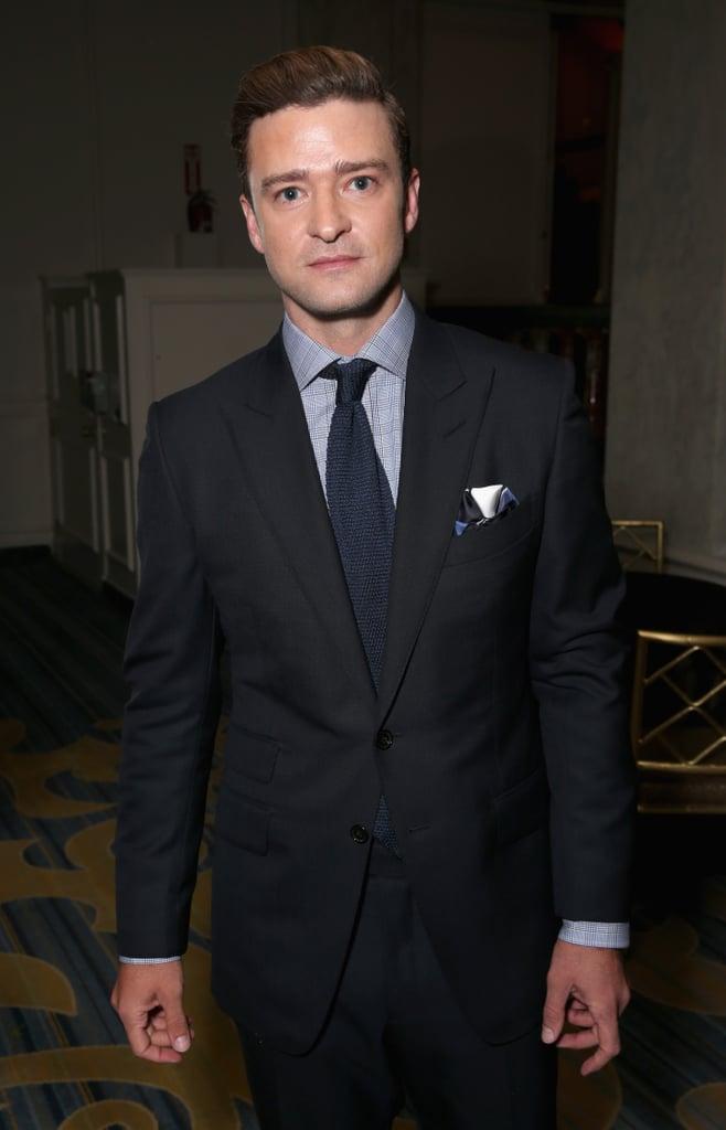 Justin Timberlake at Foreign Press Association Gala 2016