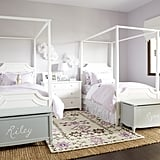 Ava Regency Canopy Bed ($999+)