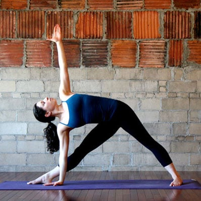 yoga moves to tone your legs and more  popsugar fitness