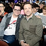 Pictured: Jason Sudeikis and Josh Gad