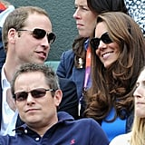 Kate and William Do the Wave at the Olympics!