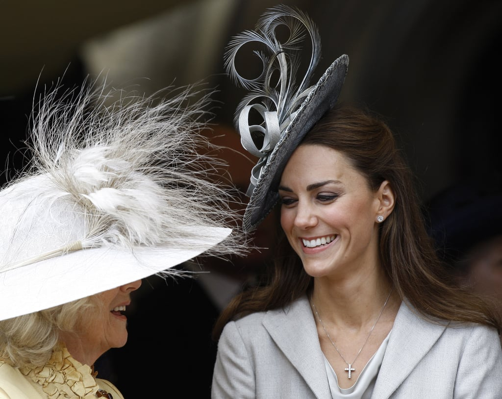 "Camilla: ""See? It's all about the hilarious hats."""