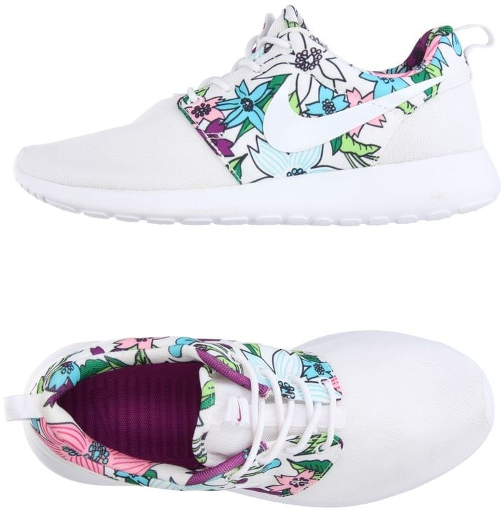 "These graphic print Nike Sneakers ($94) scream ""Summer is here!"""