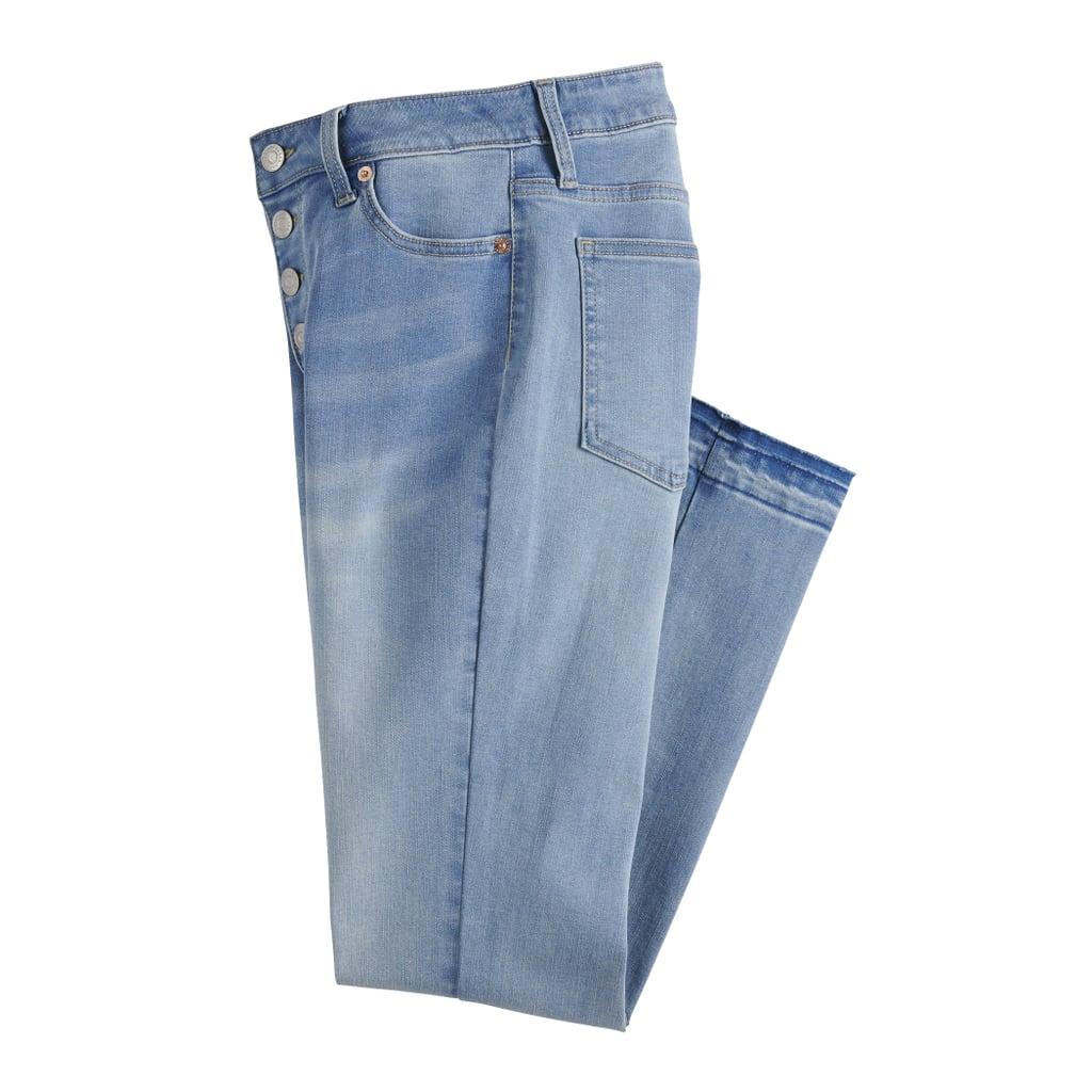 Midrise Straight-Leg Jeans