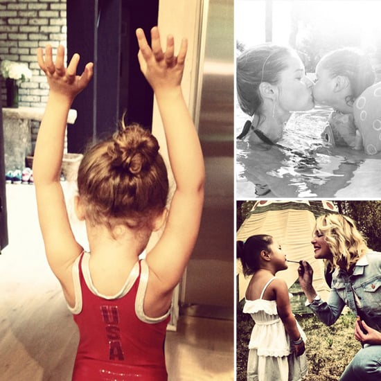 Celebrity Moms Instagram Pictures Week of August 26, 2012