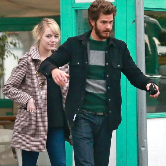Andrew Garfield and Emma Stone Get Lunch Together