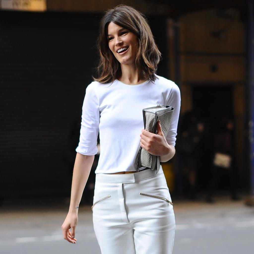 Street Style At New York Fashion Week Fall 2013 Popsugar Fashion