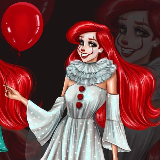 Artist Reimagines Disney Princesses as Horror Movie Villains