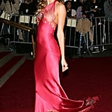 Gisele Bündchen a Fuchsia Gown at the 2006 Met Gala