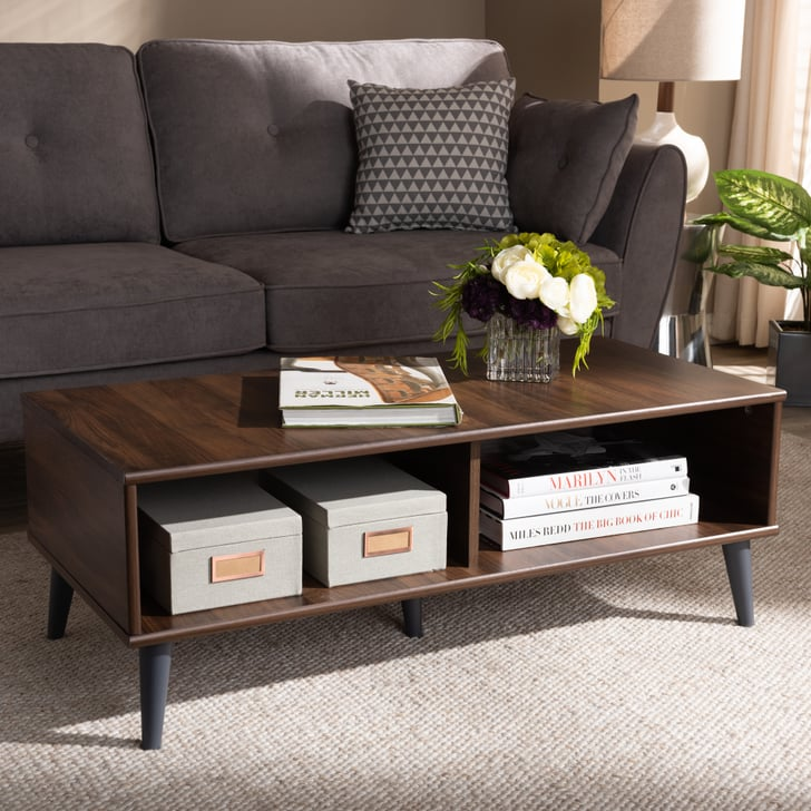 Baxton Studio Pierre Mid-Century Modern Coffee Table