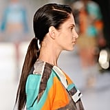 The Low and Sleek Ponytail
