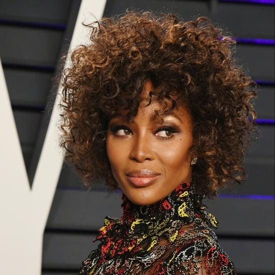 Naomi Campbell's Natural Hair