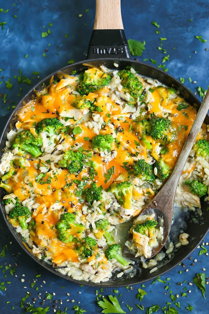 Cheesy Chicken and Broccoli Rice Casserole