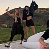 Khloé and Kendall Took Some Videos Dancing Together