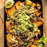 Sweet Potato Nachos With Chicken Carnitas