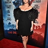 Selena Gomez's Black Dress At The Dead Don't Die Premiere
