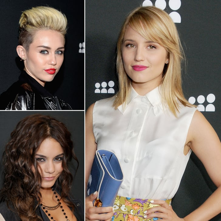 Miley, Vanessa, Dianna, and More Celebrate Myspace's New Launch