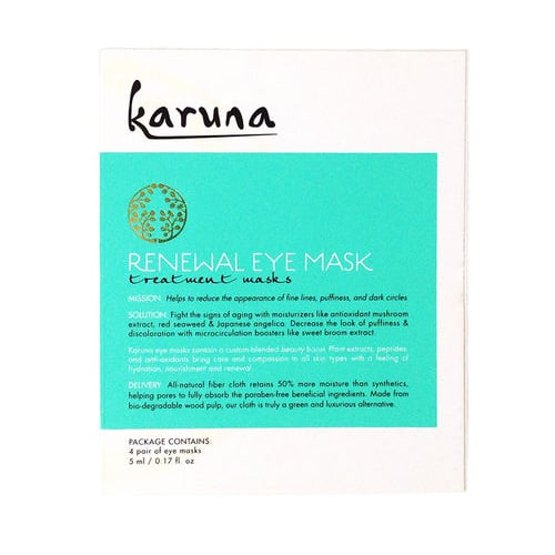 Karuna Renewal Eye Mask Review