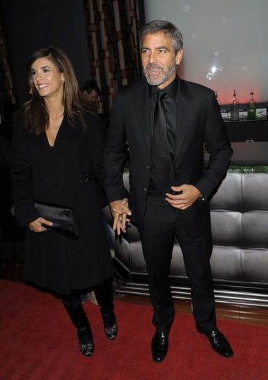 George Clooney and Elisabetta Canalis at Crimson Club on Broadway