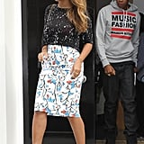 Beyoncé's Mixed Prints