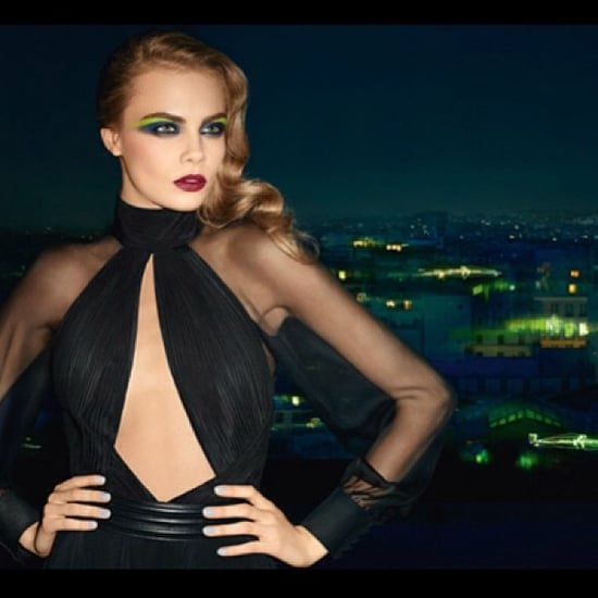 Cara Delevingne's Tweets New Yves Saint Laurent Makeup Shot
