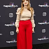 Madison Cunningham at Instagram's 2020 Grammy Luncheon in LA